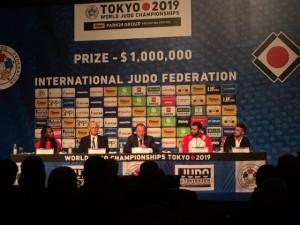 Sorteio das chaves define confrontos dos brasileiros no Campeonato Mundial de Judô