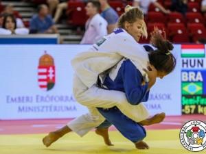 Rafaela Silva vence alemã por ippon e é campeã do Grand Prix de Budapeste