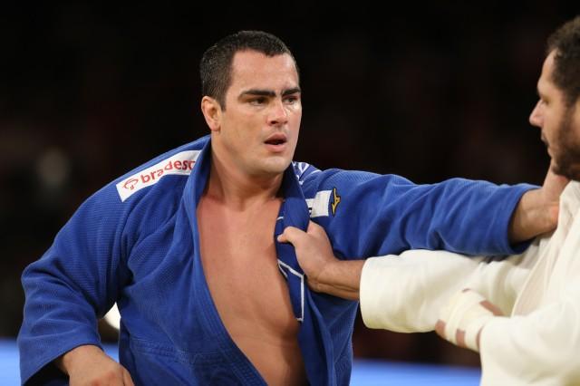 O pesado David Moura é um dos destaques da equipe do Instituto Reação. Foto: Abelardo Mendes Jr/ rededoesporte.gov.br