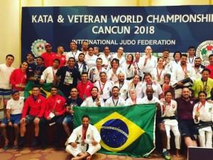Judô brasileiro conquista 51 medalhas e fica em primeiro lugar geral no Campeonato Mundial de Veteranos