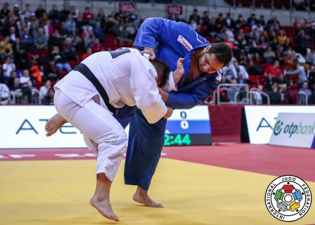 O medalhista olímpico Rafael Silva luta nesta quarta. Foto: Marina Mayorova/IJF
