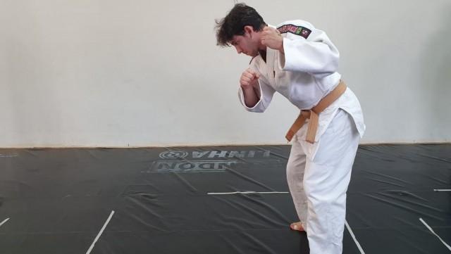Na competição, foi avaliada a execução de golpes característicos do judô combinados com exercícios funcionais. Foto: Divulgação/Associação Yada de Judô