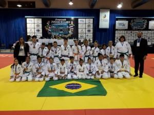 Brasil vai ao pódio 23 vezes no Campeonato Pan-Americano Sub-13, em Guaiaquil