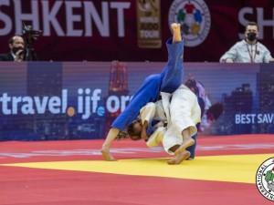 Larissa Pimenta fica em 5º e Jéssica Pereira em 7º no primeiro dia de Tashkent