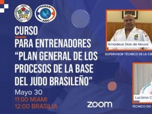 Luciano Corrêa, Marcelo Theotônio e Amadeu de Moura Jr ministrarão curso para treinadores organizado pela Confederação Pan-Americana de Judô
