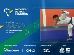 Sorteio definirá as chaves do Nacional de Judô Funcional, nesta terça-feira, 27, a partir das 18h30 (Brasília)
