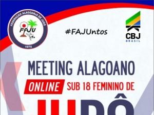 Federação Alagoana de Judô realizará o 1º Meeting Alagoano Online de Judô