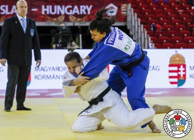 Portela vs Prokopenko (RUS) Oitavas-de-final - Grand Slam Hungria (c) Gabriela Sabau IJF