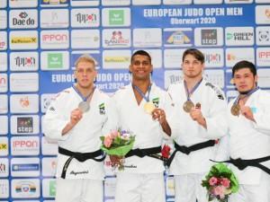 Judô brasileiro mantém sequência de pódios e conquista sete medalhas nos Abertos Europeus preparatórios para o Grand Slam de Düsseldorf