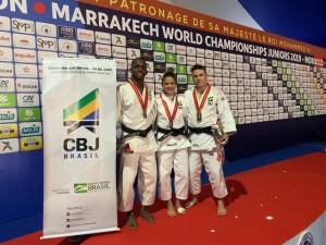 Willian Lima (66kg) é campeão mundial Júnior em Marraquexe; Marcelino (66kg) e Pimenta (52kg) ficam com bronze