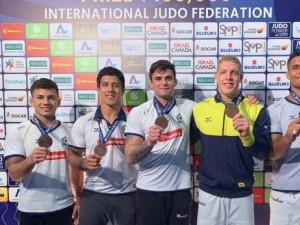 Judô brasileiro fecha Grand Prix de Tel Avi em grande estilo com mais três medalhas neste sábado, 25