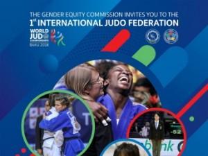 Federação Internacional de Judô promoverá debate sobre igualdade de gênero com participação de treinadora do Brasil