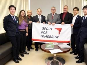 CBJ e Sport For Tomorrow reunem-se com secretário do Esporte, em Brasília
