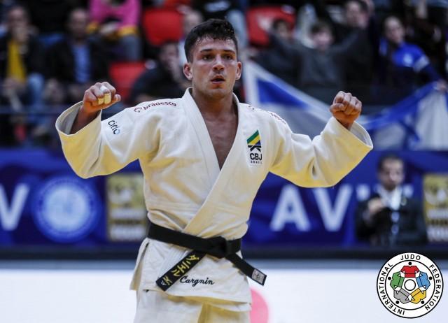 Daniel Cargnin é medalha de bronze do Grand Prix de Tel Aviv. Foto: Gabriela Sabau / IJF