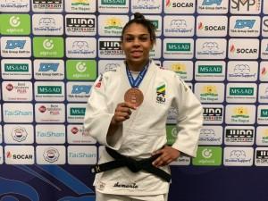 Brasil garante mais dois bronzes neste domingo e fecha Grand Prix de Haia com três medalhas