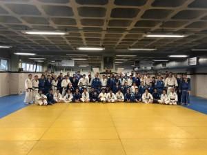 Seleção argentina de judô treina no Minas Tênis Clube em preparação para Lima 2019