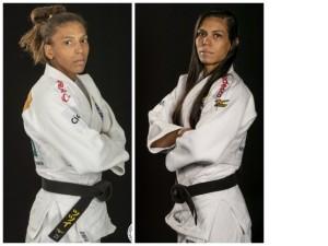 Rafaela Silva e Jéssica Pereira se enfrentam, neste domingo, em seletiva para o Brasileiro Sênior