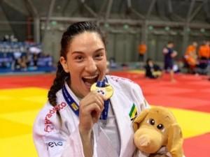 Em último teste para Pan e Mundial, Mayra Aguiar bate japonesa na final e é campeã do Grand Prix de Budapeste