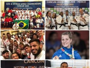 Do Sub-18 aos Veteranos, judô brasileiro conquista 70 medalhas em competições de vários níveis durante o mês de outubro