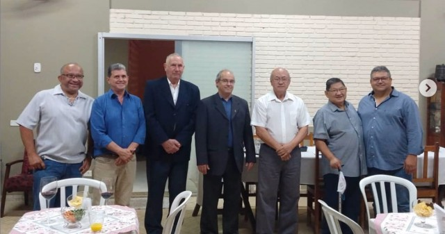 A cerimônia de comemoração homenageou os beneméritos do Judô de Mato Grosso do Sul. Foto: FJMS