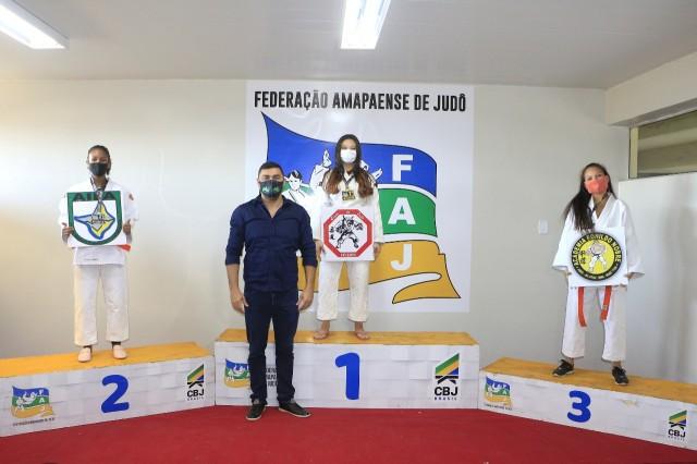 Os campeões de cada classe representarão o Amapá na disputa do Nacional de Judô Funcional, organizado pela CBJ. Foto: FAJ