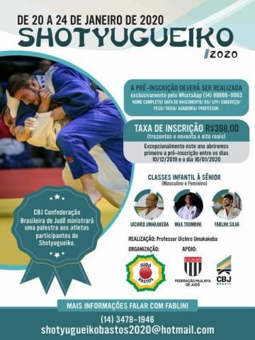 Evento reunirá judocas na tradicional academia do Sensei Uichiro Umakakeba