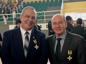 Presidente da CBJ é homenageado com Medalha do Mérito Desportivo Militar