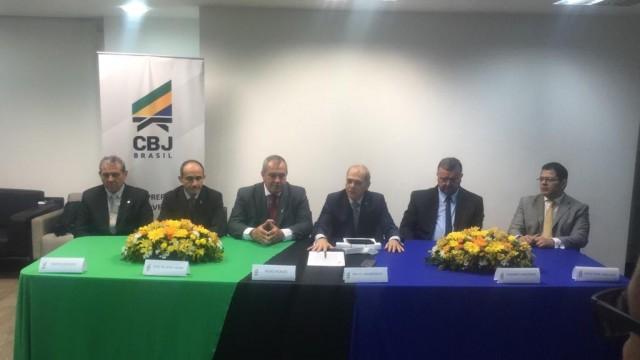 Dia da posse da gestão Silvio Acácio Borges. Foto: CBJ