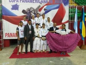 Brasil fecha Copa Pan-Americana de Judô com sete pódios