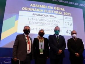 Com maioria dos votos, Silvio Acácio Borges é reeleito presidente da CBJ para o próximo ciclo olímpico