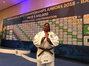 Beatriz Souza (+78kg) é vice-campeã mundial júnior e Brasil fecha competição com quatro pódios no individual