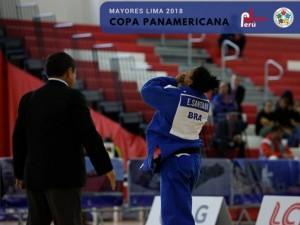 Ellen Santana derrota cubana na final e Brasil fecha Copa Pan-Americana de Lima com cinco medalhas