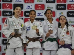 No primeiro dia do Brasileiro Sub-18, quatro judocas carimbam passaporte para o Mundial de Almaty