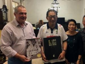 Chiaki Ishii será o primeiro homenageado pela Ordem do Mérito da Confederação Brasileira de Judô