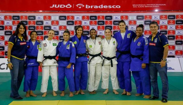 e4c8f7eef6d A seleção brasileira de judô está completa. Depois das disputas masculinas  na quarta-feira