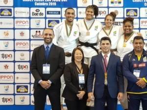 Seleção Juvenil conquista 9 medalhas e Brasil fica em terceiro lugar geral da Copa Sub-18 de Coimbra, em Portugal