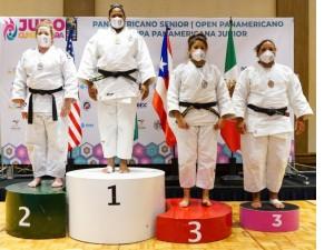 Brasil conquista mais sete pódios e é campeão geral do Campeonato Pan-Americano Sênior de Guadalajara